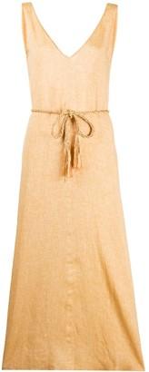 Forte Forte Textured Style Tie Waist Dress