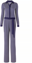 Diane von Furstenberg Traci Silk Jumpsuit
