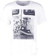 Converse Print Tshirt White