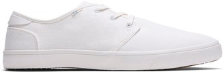 Toms White Canvas Carlo Men's Sneakers
