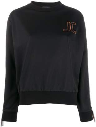 Just Cavalli embroidered logo sweatshirt