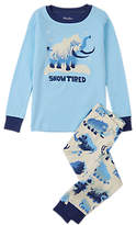 Hatley Children's Snow Tired Pyjamas, Navy