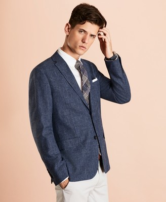 Brooks Brothers Wool-Blend Two-Button Sport Coat