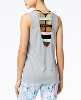 Jessica Simpson The Warm Up Juniors' Strappy-Back Tank Top, Only at Macy's