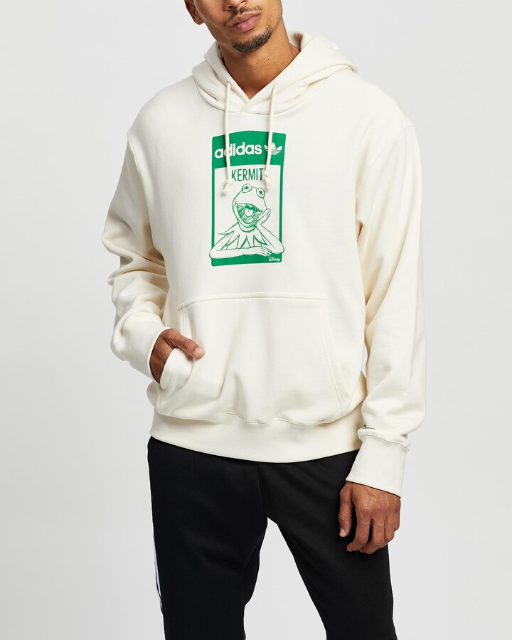Thumbnail for your product : adidas Neutrals Hoodies - Kermit Hoodie - Unisex - Size M at The Iconic