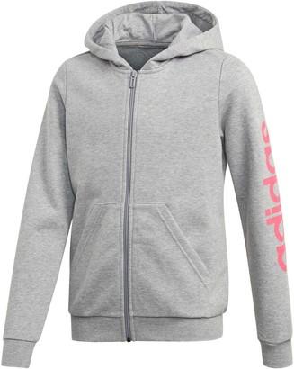 adidas Girls Essential Linear Hoodie
