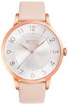 HUGO BOSS Women's Eclipse Leather Strap Watch