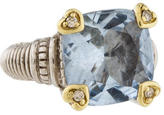 Judith Ripka Fontaine Quartz & Diamond Ring