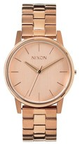 Nixon 'The Small Kensington' Bracelet Watch, 30mm