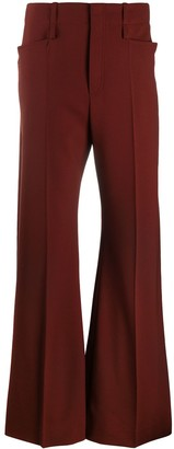 Chloé High-Rise Flared Trousers