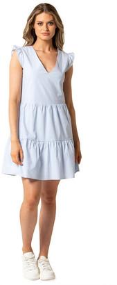 Forever New Janelle Smock Mini Dress
