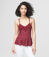 Prince & Fox Floral Lace Babydoll Tank