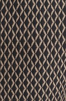 Vince Camuto Diamond Print Sleeveless Peplum Blouse