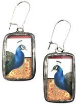 Artifacts Gallery Peacock Earrings