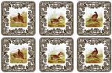 Spode Set of 6 Woodland Coasters - White