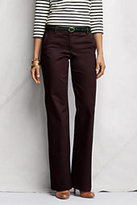 Classic Women's Petite Mid Rise Chino Trouser Pants-Steel Gray