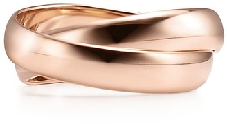 Tiffany & Co. Paloma's Melody two-band ring in 18k rose gold - Size 4