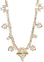 Fallon WOMEN'S ZIGZAG BAGUETTE NECKLACE-GOLD