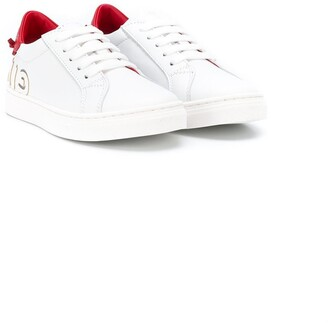 Givenchy Kids logo print sneakers