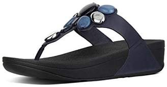 FitFlop Women's Honeybee Tm Jewelled Toe Thong Sandals Flip Flops