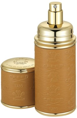 Creed Camel with Gold Trim Leather Deluxe Atomizer