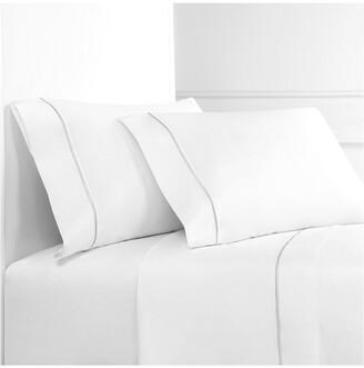 Melange Home Single Marrow Stripe Sheet Set