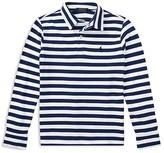Ralph Lauren Boys' Long-Sleeved Striped Polo - Big Kid