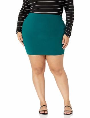 Forever 21 Women's Plus Size Mini Skirt