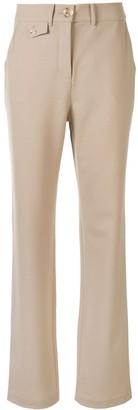 Roxy straight-leg trousers