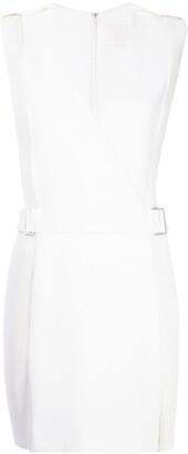 Dion Lee corrugated pleated panel mini dress