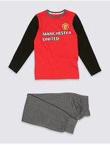 Marks and Spencer Manchester UnitedTM Long Sleeve Pyjamas (3-16 Years)