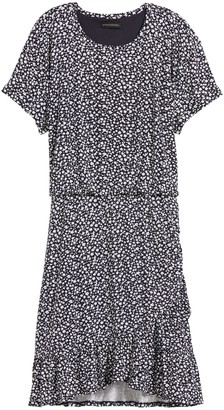 Banana Republic Flounce-Hem T-Shirt Dress