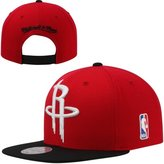 Mitchell & Ness Houston Rockets 2 Tone Team Logo Snapback Hat