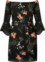 City Chic Wild Floral Tunic
