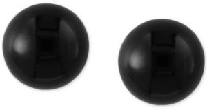 Effy Onyx (10mm) Stud Earrings in 14k Gold