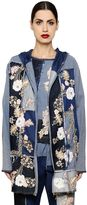 Antonio Marras Floral Patchwork Cotton Denim Jacket