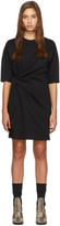 Victoria Victoria Beckham Black Tie Front Dress