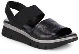The Flexx Cushy Leather Strap Sandals