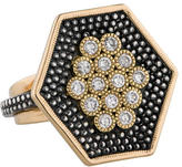 Moritz Glik Two-Tone Diamond Ring