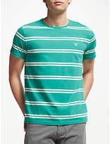 GANT Double Breton Stripe Cotton T-Shirt