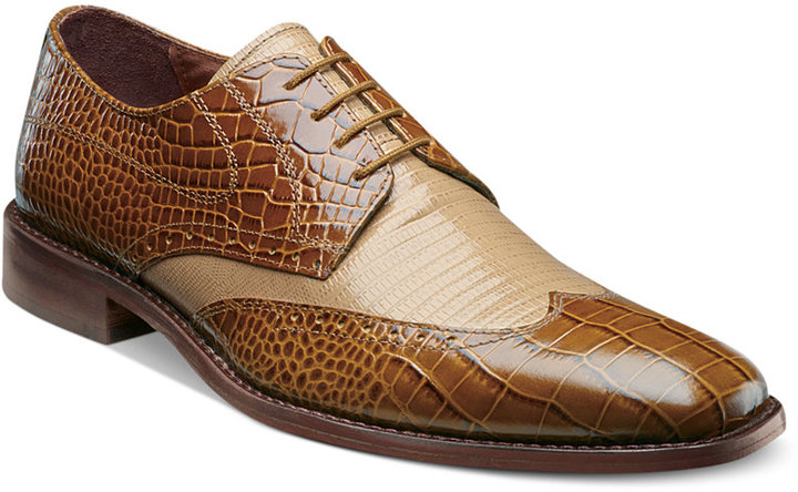 Stacy Adams Amato Wing Tip Shoes