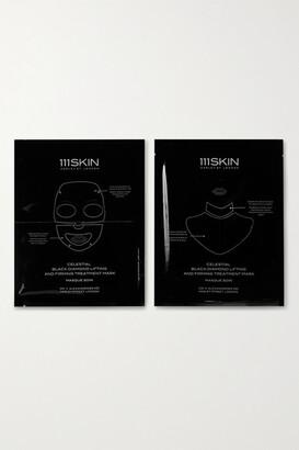 111SKIN Celestial Black Diamond Lifting And Firming Mask, 4 X 74ml