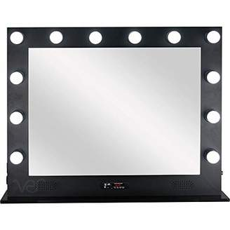 Ver Beauty Large Makeup Studio 12 Dimmable Led Light With Speakers