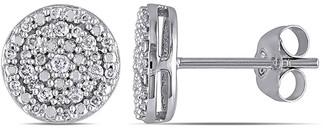 Rina Limor Fine Jewelry 10K Gold 0.24 Ct. Tw. Diamond Stud Earrings