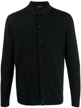 Roberto Collina Knit Shirt Cardigan