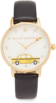 Kate Spade In a New York Minute Leather Watch