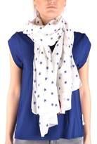 Altea Women's White Cotton Scarf.