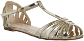 Office Francesca Strappy T Bar Flats