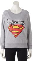 Juniors' DC Comics Superman Graphic Sweatshirt