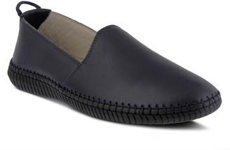 Spring Step Slip-On Leather Loafers - Jaimiva